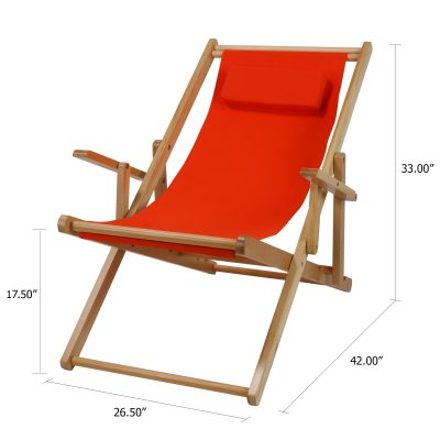 Sling Chair Dimensions