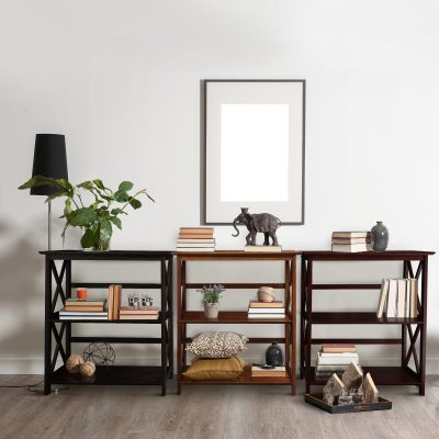 Montego Style 3-Shelf Bookcase life style