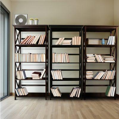 Montego Style 5-Shelf Bookcase life style