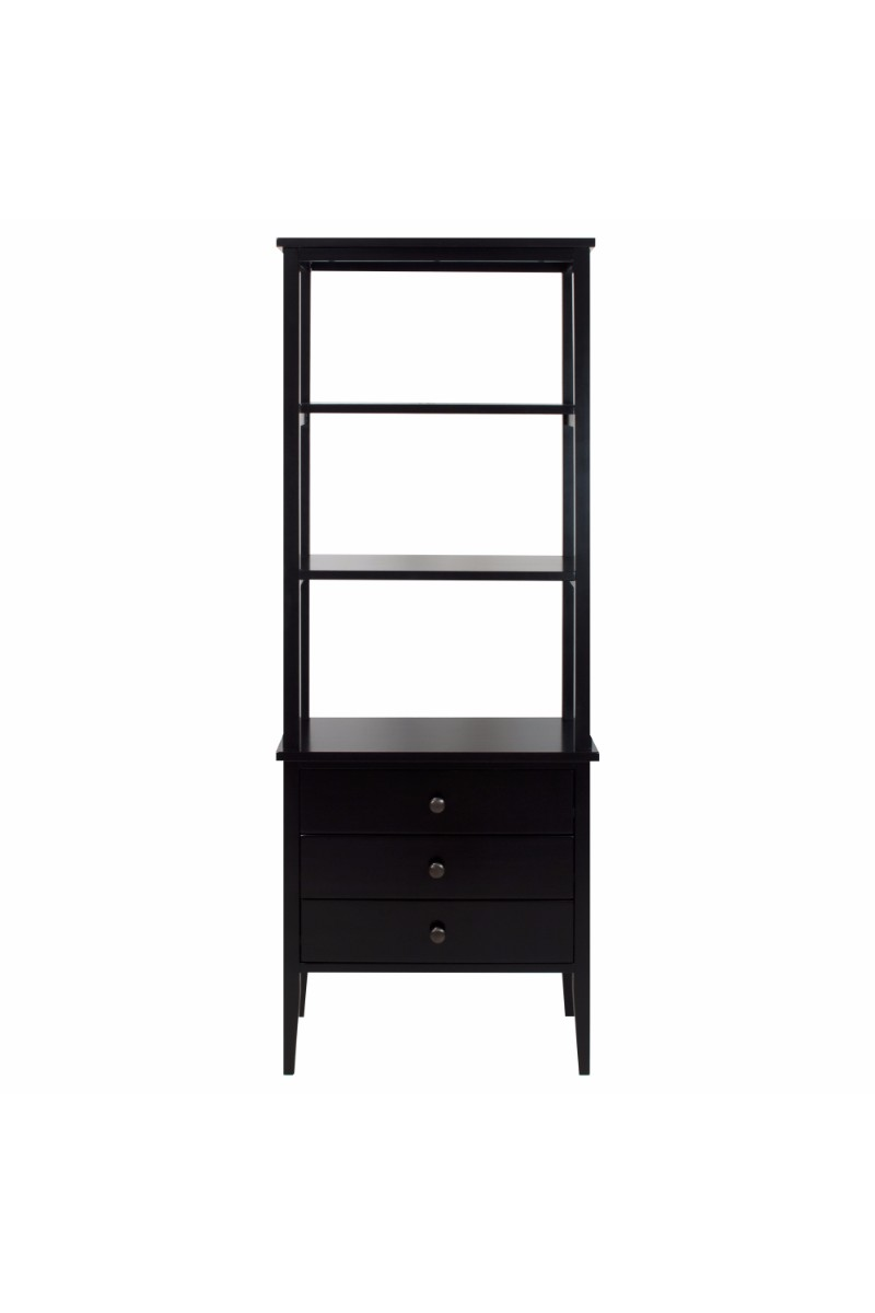 Edison Bookcase With Drawers - Casual Home