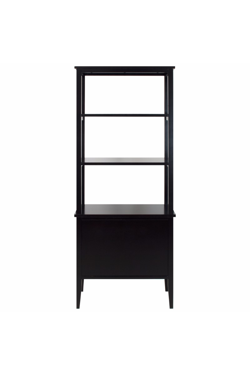itm furniture grey open bookcase shelf washed tier payment display premium furnitur door cabinet terms