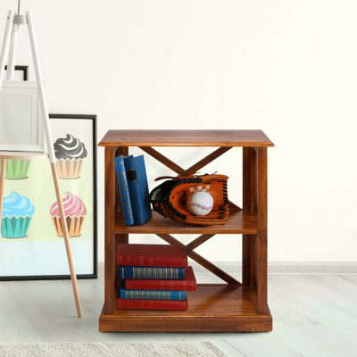 Bay View 3-Shelf Bookcase Life Style