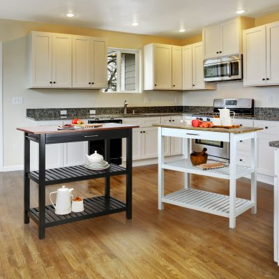 Kitchen Island with Solid Wood Life Style