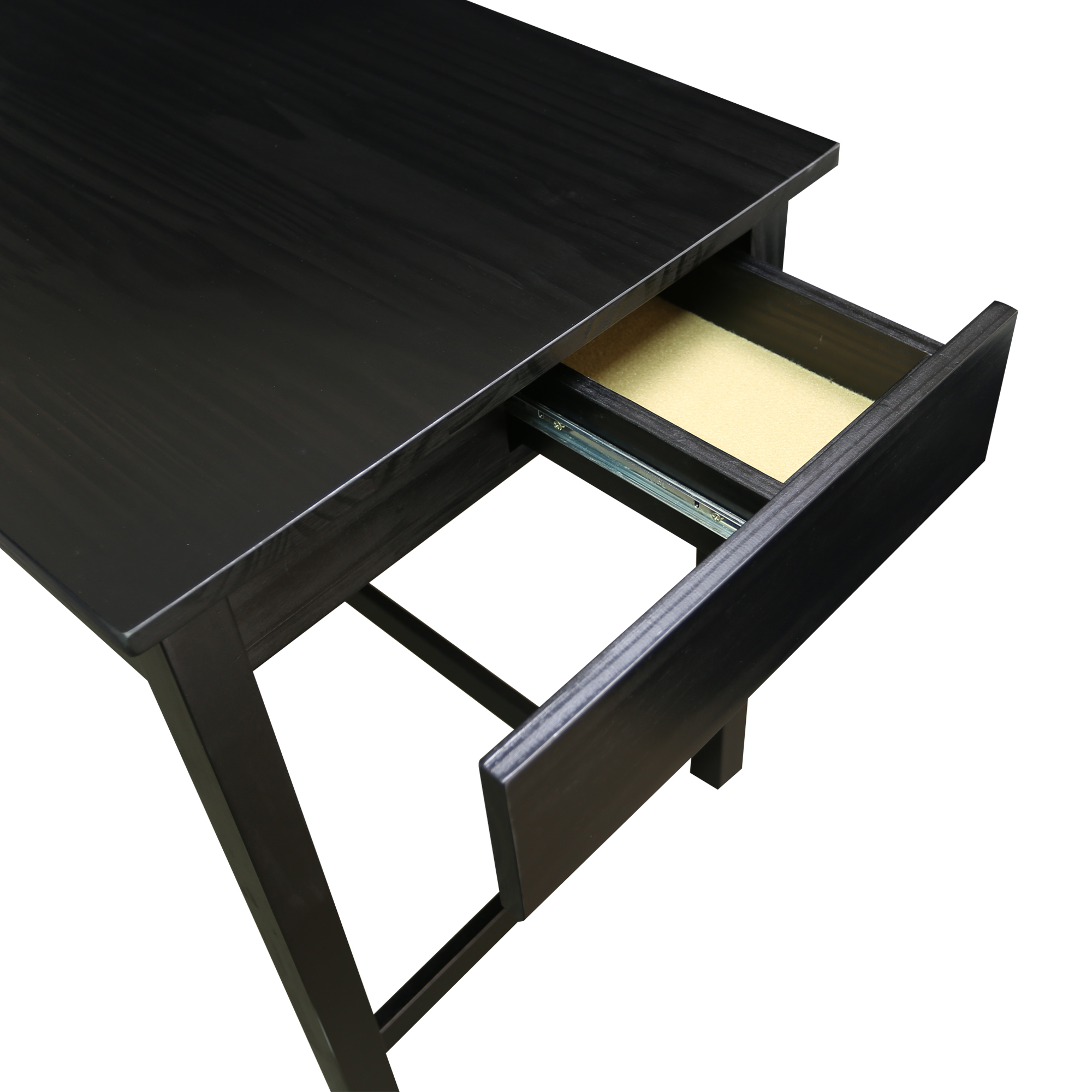 Jefferson Work Desk with Concealed Side Drawer Casual Home