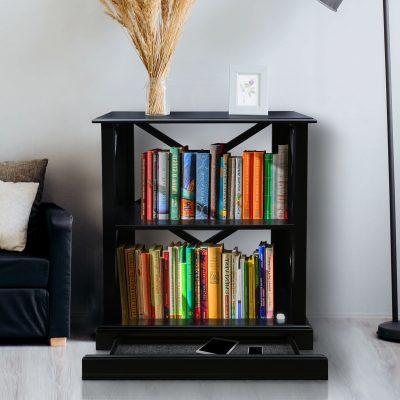 Jackson 3-Shelf Bookcase Life Style