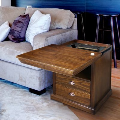 Lincoln Nightstand with Concealed Compartment Life Style