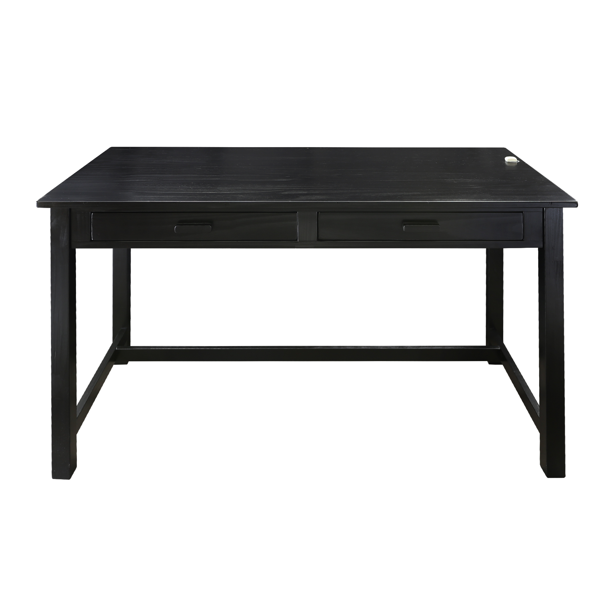 Jefferson Work Desk with Concealed Side Drawer Concealment