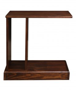Monroe C-Table with Hidden Drawer