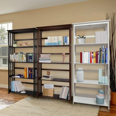 Mission Style 5-Shelf Bookcase