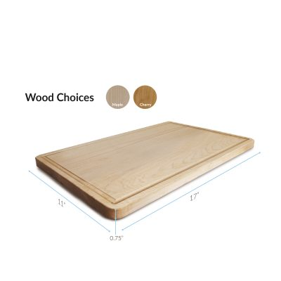 Best maple and cherry wood cutting board - Casual Home